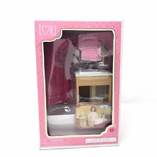 Lori 6� Doll Furniture Luxury Bathroom Set
