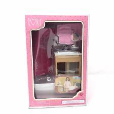 """Lori 6"""" Doll Furniture Luxury Bathroom Set"""