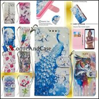 Etui coque Cuir PU Leather Stand Wallet Case Cover Huawei Collection - Films