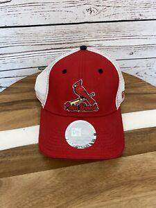 New Era Palm Beach Cardinals NWT Mesh Snap Back Baseball Hat Cap Minor League