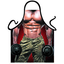 Sexy man GYM MACHO Army man sexy funny men kitchen apron BBQ grilling gag gift