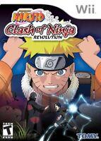 Naruto: Clash of Ninja Revolution - Nintendo  Wii Game Only