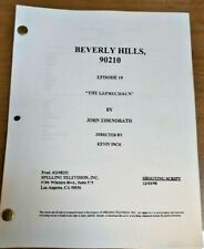 "BEVERLY HILLS 90210 script ""The Leprechaun"" / Season 9"