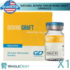 Natural Granules Bone Graft Bovine Origin Material Sterile Dental Implant