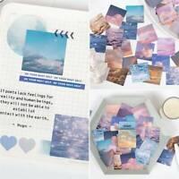 46Pcs Washi Paper Sticker Retro Decorative Scrapbooking DIY Stickers Craft Lot