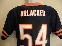 NFL Chicago Bears 54 Brian Urlacher Blue Football Jersey Boys Youth Large 14 16
