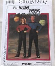 Simplicity Pattern 9394 Sizes 34-44 Star Trek Next Generation Designer Uncut1989