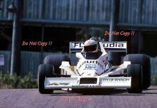 Alan Jones Williams FW06 Monaco Grand Prix 1978 Photograph 3