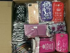 490+ Mobile Phone / Tablet Cases Covers For Mixed Brands Clearance Box Joblot