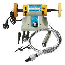 Multifunctional Bench Grinder Lathe Machine Electric  Polisher & Accessory