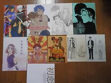 YAOI BL Doujinshi for all ages Japan Set of 10 books Manga Novel HTF Excellent F