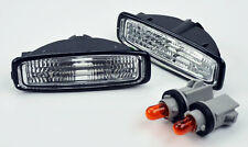 Honda Accord 94-97 JDM Side Euro Clear Marker Repeater Lights w/ Sockets Bulbs