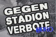 Motiv Spraydose Schwarz Gegen Stadionverbot Jogginghose ultras hose