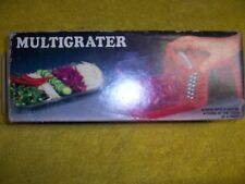 MULTIGRATER DRUM FOOD GRATER  IN ORIGINAL BOX