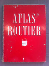 Atlas routier PEUGEOT. Carte de la France, 9 planches, échelle 1/100.000 1950'