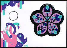 Finland FDC 2009 Drops Of Happiness Sheet Mint