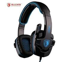 SADES Wired USB Computer Headsets