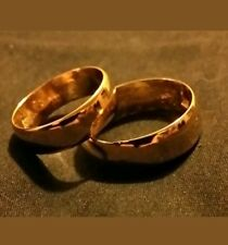 NEW 2018 24K SOLID FINE GOLD BULLION WEDDING SET JOEY NICKS ANARCHY JEWELRY #B1