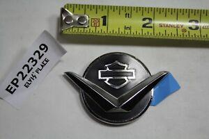 Bar & Shield + V logo Harley medallion badge Softail FL Dyna Road King EPS22329