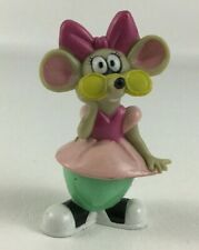 """New listing Rock A Doodle Mouse Peepers Pvc Figure Dairy Queen Toy 3"""" Rodent Vintage 1992"""