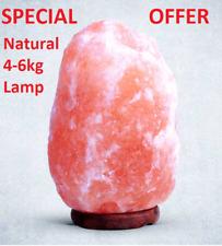 4-6kg sale dell'Himalaya rosa Rock Crystal Lampada guarigione naturale sale ionizzanti LAMPADE