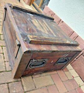 vintage COUCHTISCH - Holz-Kiste - Industriedesign-Loft- WK2