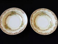 VTG set of 2 hand painted Empress china Japan EMP32 fruit bowls floral