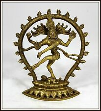 "Wonderful!  ""Bronze Shiva from India"" (8.5"" High x 7"" Wide)  Intricate Detail"