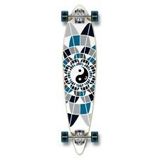 Yocaher Pintail Ying Yang Longboard Complete