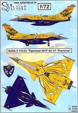 Syhart Decals 1/72 DASSAULT RAFALE C Tigermeet 2013 EC 1/7 Provence