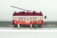 Red Lisbon Tram Diecast HO gauge - NO motorized NEW