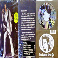 "King ELVIS Presley ""ELVIS AARON PRESLEY"" RECORD WORLD EXCLUSIVE 5-CD SEALED BOX"