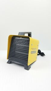 Space Heater 1500W Ceramic Space Heater Adjustable Thermostat 2sec Heat-up