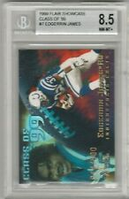 Edgerrin James 1999 Flair Showcase Class of '99 #/500 Rookie RC BGS 8.5 (2x 9.5)