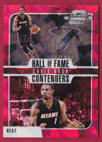 2018-19 Contenders Optic Hall of Fame Contenders ed Cracked Ice #15 Chris Bosh
