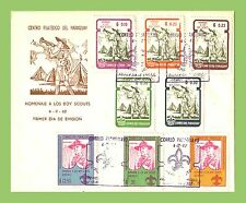 Cover Paraguayan Stamps