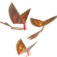 1Pc Kids DIY Toys Rubber Band Power Air Plane Ornithopter Birds Models Kites