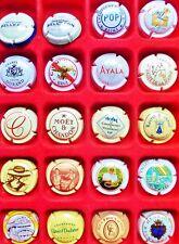 20 CAPSULES de CHAMPAGNE FRANCE REIMS toutes différentes VIN Vigne MUSELET Lot 7