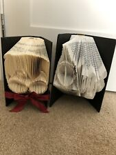 2 Books Hand Folded To Look Like Harry Potter And Always