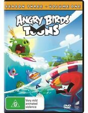 Angry Birds Toons DVD: Season 3 - Volume 1 | Region 4 | Brand New in Packet