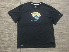 Nike Dri Fit Nfl Jacksonville Jaguars Men's Xl Shirt She Black Short Sleeve