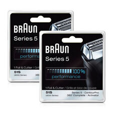 Braun 8000CP/51s Shaver Replacement Pack F/ 510 / 540 / 550 / 550s-3 2 Pack