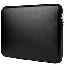 """Macbook Pro Retina 15 Leather Pouch Sleeve Bag Case Cover 15"""" Full Protecttion"""