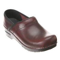 Women's Dansko Professional Clogs Cordovan Cabrio Leather
