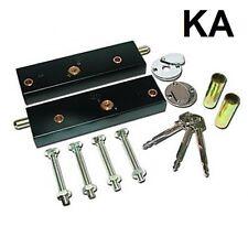Cerraduras De Perno de puerta de garaje para mayor seguridad (LLAVES IGUALES-Min orden 2 pares)