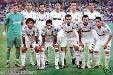 "REAL MADRID CF ""2011 PLAYERS ON PITCH"" POSTER-Cristiano Ronaldo,Xabi Alonso,Kaka"