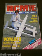 RCM&E - VOYAGER ROUND THE WORLD MODEL - OCT 1987
