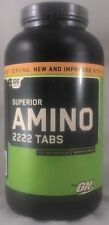 jlim410: Optimum Nutrition Superior Amino 2222, 320 Tabs