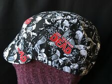 CYCLING CAP THE WALKING DEAD  HANDMADE IN USA   S M L