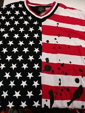 Exclusive Worldwide Shirt, red/white/blue, lace-up sides, 2XL